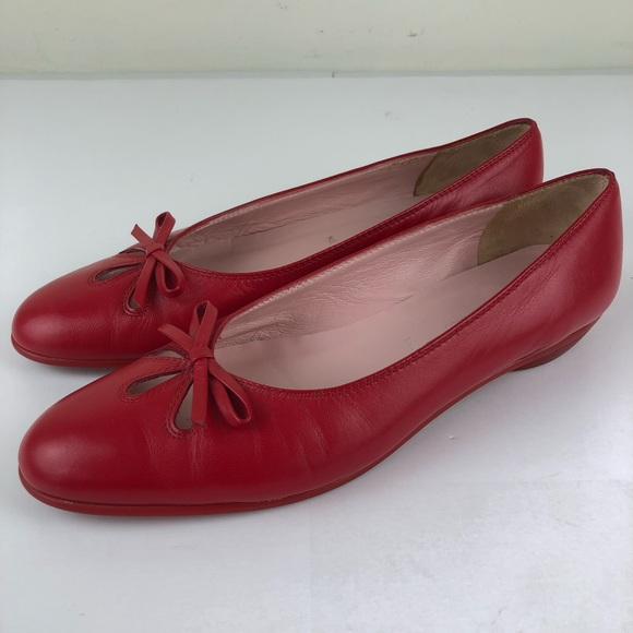 bd5a0e1a649 Amalfi Ballet Flats Red Bow Cut Out Nordstrom 9